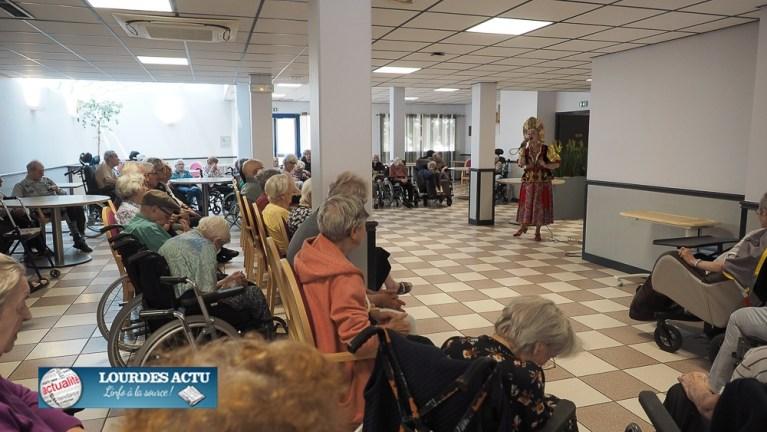 Read more about the article Lourdes : belle Fête de la musique à la résidence «La Pastourelle»