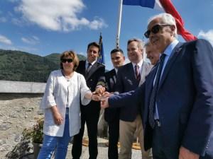 Lourdes : Remise de la Médaille d'Honneur de la Ville à  Jean-Baptiste Lemoyne et à Pierre Latanne