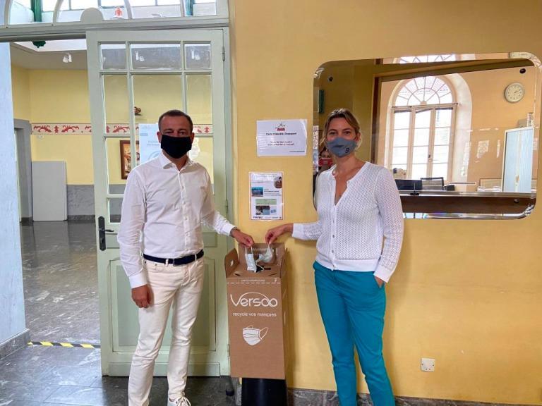 Read more about the article Séméac : recyclons les masques à usage unique !