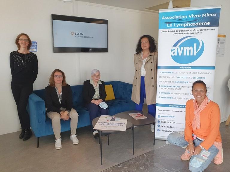 Read more about the article Tarbes : l'association AVML 65 (ex lymphœdème 65) déménage son bureau dans la clinique de l'Ormeau