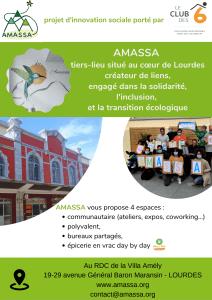 Read more about the article Lourdes : Actualités du Tiers-lieu AMASSA