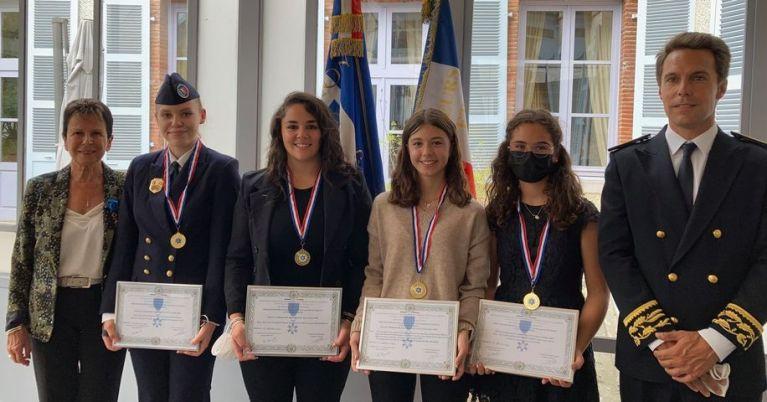 Read more about the article Cérémonie de remise de médailles de l'Association nationale des membres de l'Ordre National du Mérite