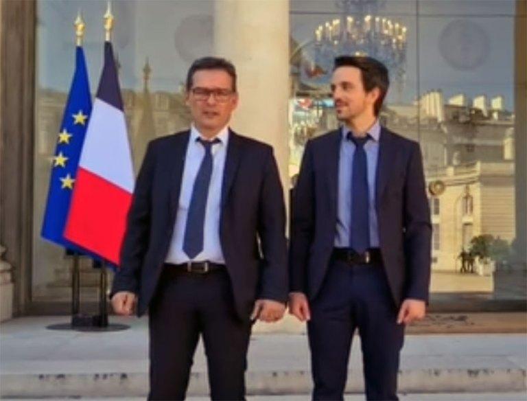 Read more about the article Thierry LAVIT reçu à l'Elysée