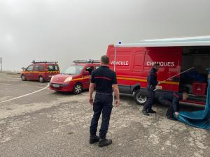 Read more about the article Exercice de Sécurité civile au tunnel d'Aragnouet-Bielsa