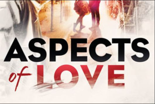 Detail from the programme and poster for Aspects of Love