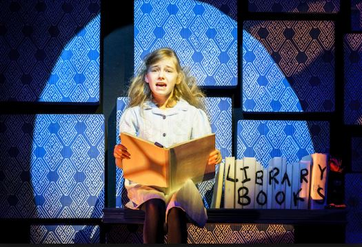 Kitty Peterkin as Matilda. Photo by Manuel Harlan.