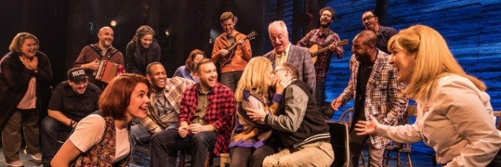 Come from Away cast. Via London Theatre.