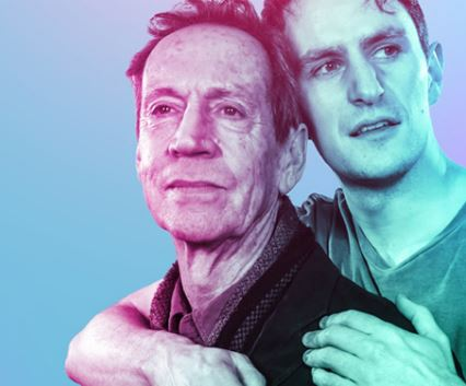 Jonathan Hyde and Ben Allen in Gently Down The Stream