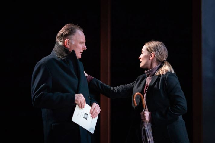 Robert Glenister and Joanne Froggatt. Photo by Helen Maybanks
