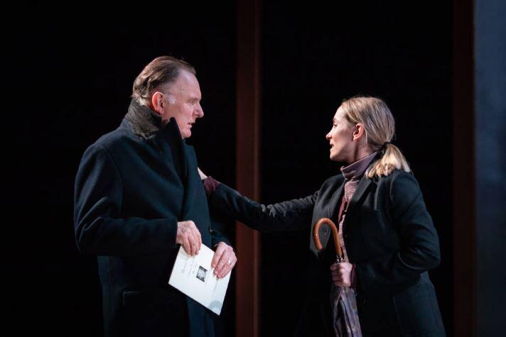 Robert Glenister and Joanne Froggatt. Photo by Helen Maybanks