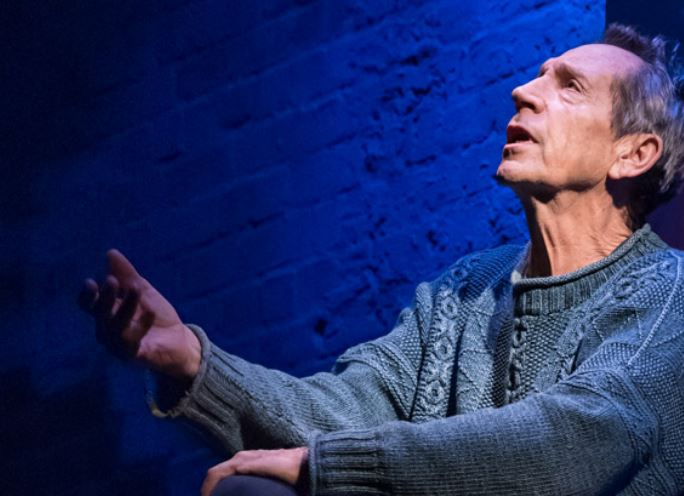 Jonathan Hyde in Gently Down The Stream. Photo credit Marc Brenner.