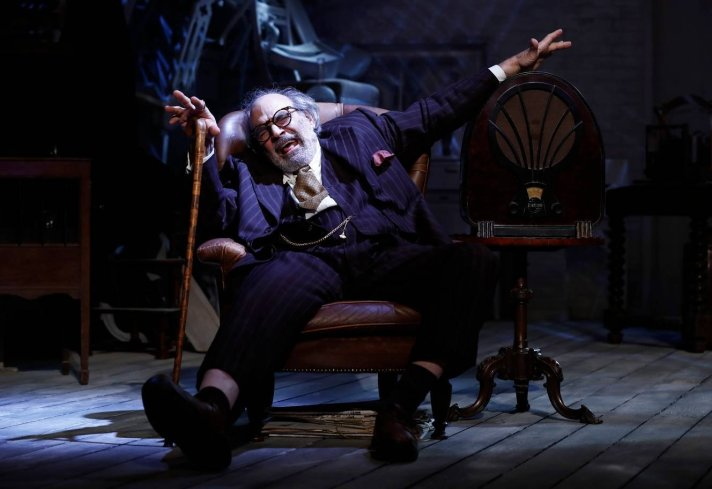 David Suchet in The Price. Photo credit Nobby Clark.