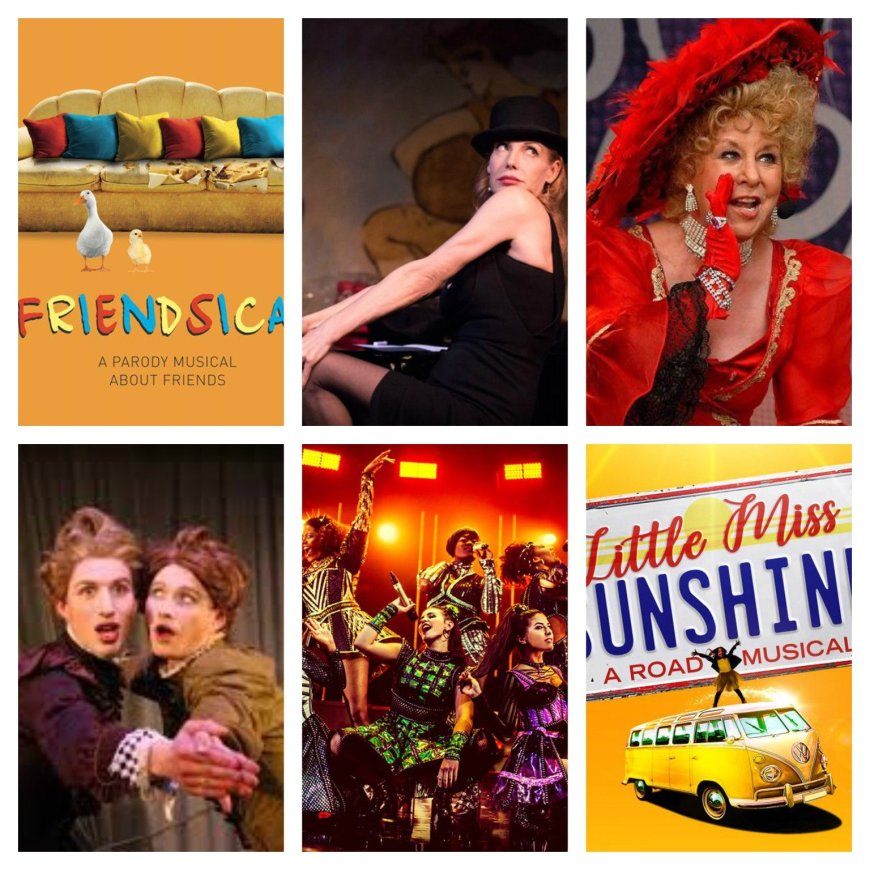 Friendsical, Ute Lemper as Marlene, The Magnificent Music Hall, Fanny and Stella, Six, Little Miss Sunshine