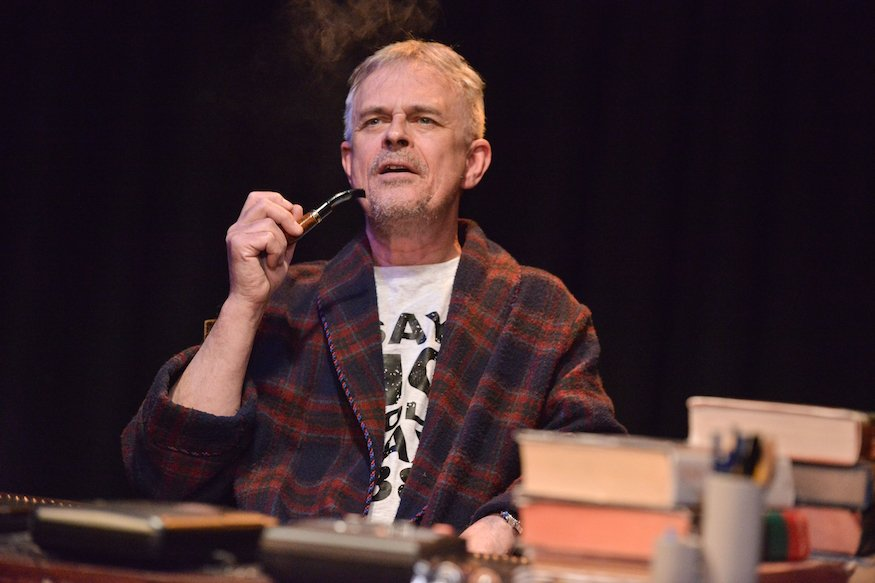 Philip Bretherton as Tony Benn. Photo credit Robert Day.