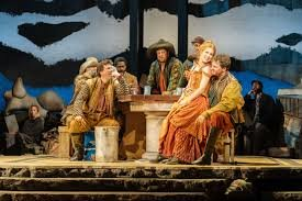 Cassidy Janson and company of Man of La Mancha