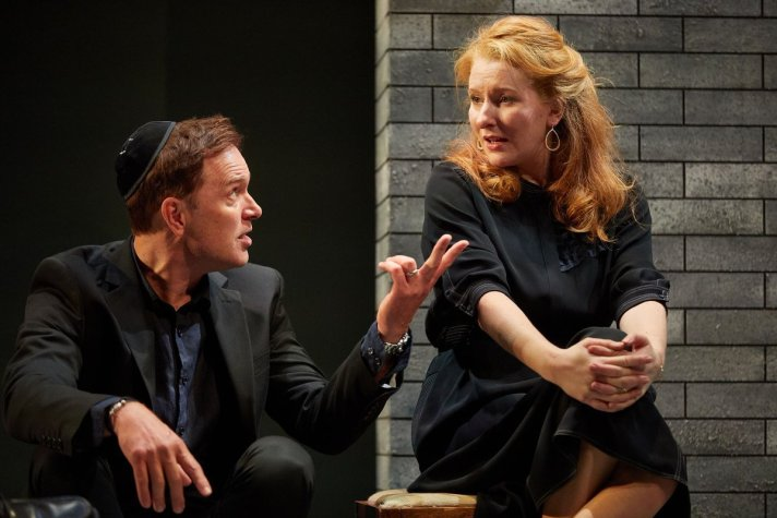 Joshua James as Finn, Karen Fishwick as Clare.