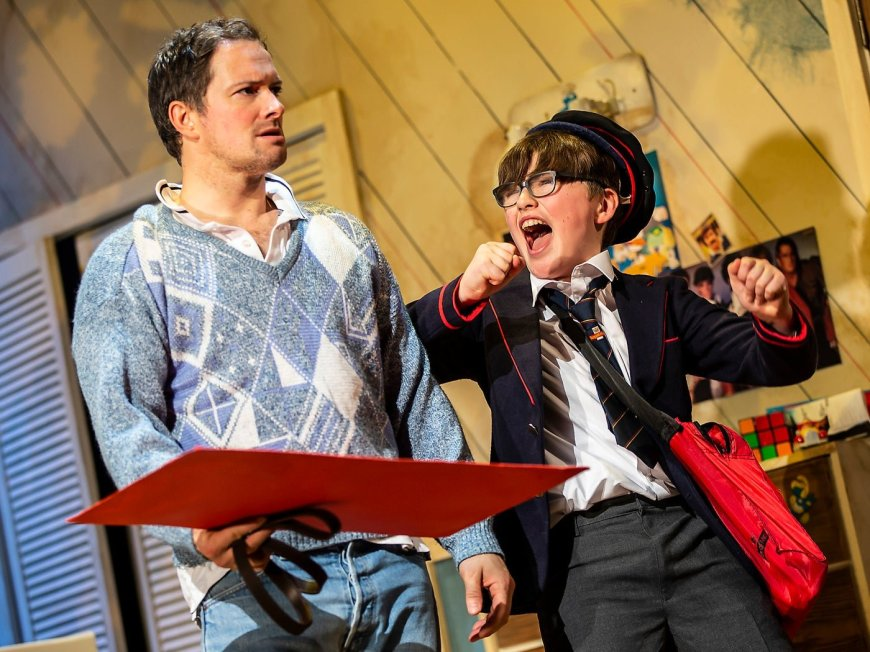 Andrew Langtree and Aaron Gelkoff in The Secret Diary of Adrian Mole