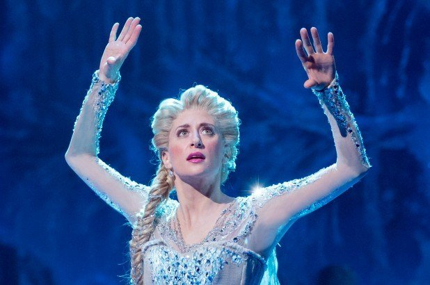 Caissie Levy as Elsa in Frozen
