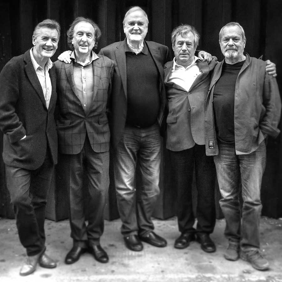 The Pythons in 2014