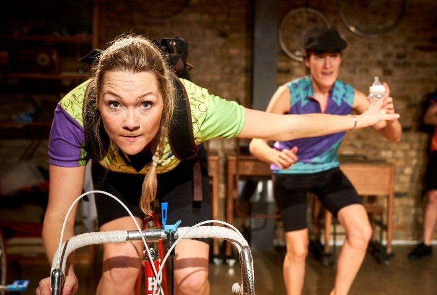 Jessica Duffield and Annie Kirkman in Beryl