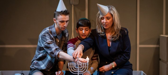 Scott Folan, Hari Aggarwal, Tracy-Ann Oberman in Mother of Him