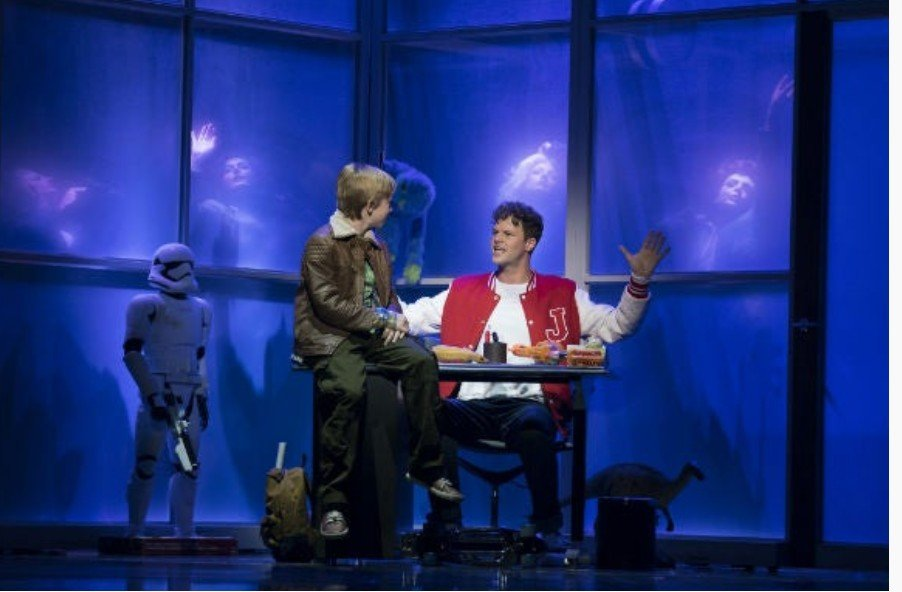 Joby Hart and Jay McGuiness in Big - the Musical