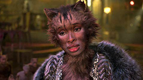Jennifer Hudson as Grizabella. Credit Universal Pictures.