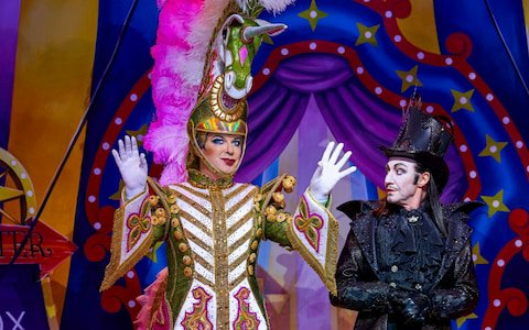 Julian Clary and Paul O'Grady in Goldilocks and the Three Bears