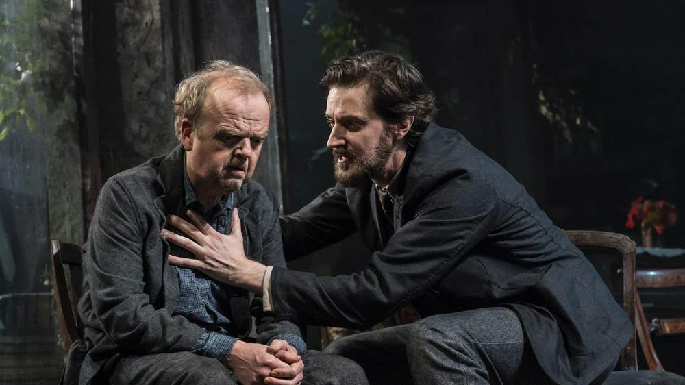 Toby Jones and Richard Armitage as Vanya and Astrov.