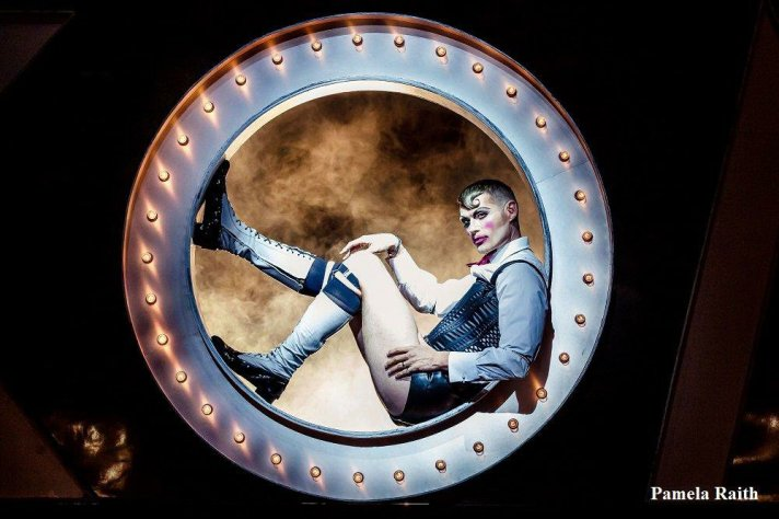 John Partridge in Cabaret