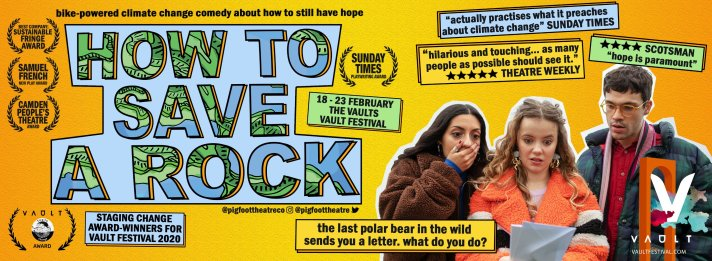 Publicity image for How To Save A Rock.