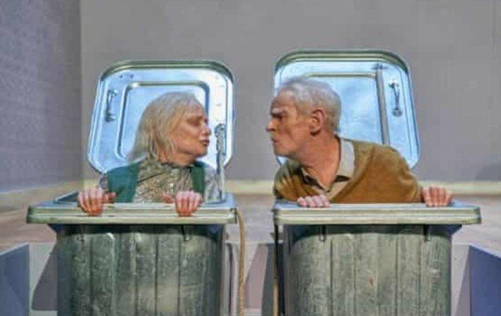 Jane Horrocks and Karl Johnson in Endgame