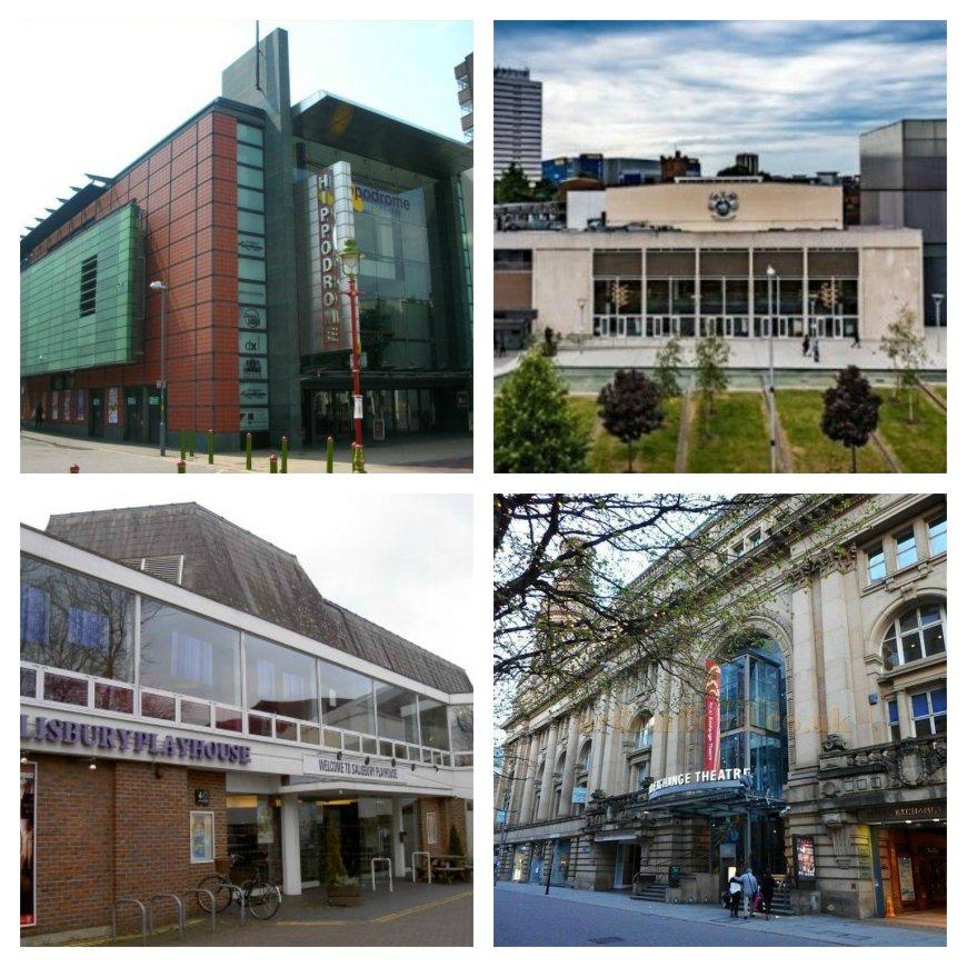Regional theatres in crisis: Birmingham Hippodrome, Belgrade (Coventry), Salisbury Playhouse, Royal Exchange (Manchester)