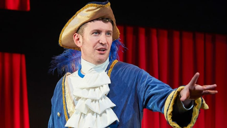 Dan Clarkson in Potted Panto