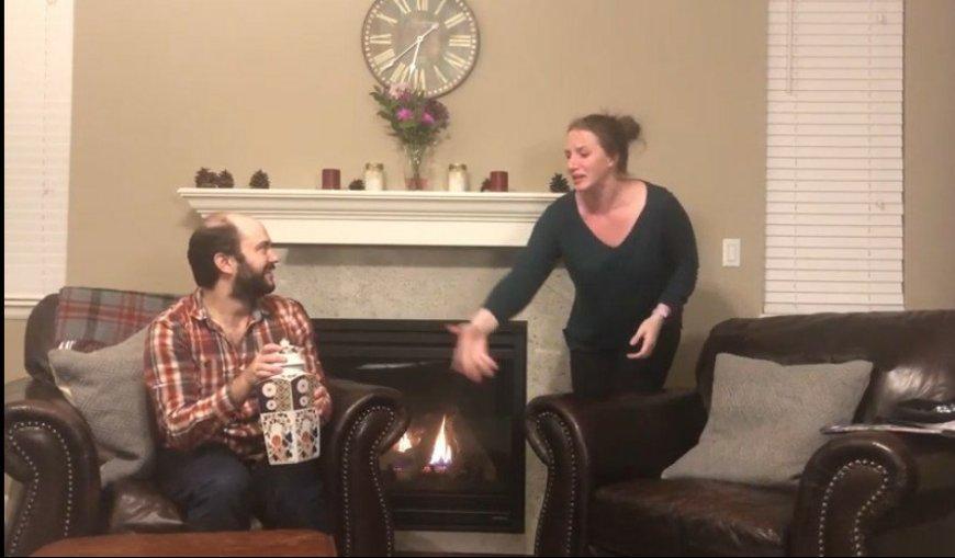 Ben and Caitlin Hilzer in Alive