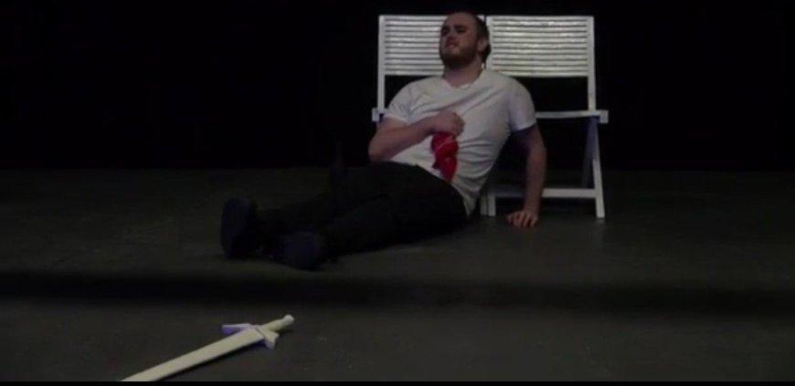 Screencap from Mercutio's Romeo and Juliet