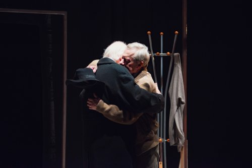 Oliver Ford Davies and Stephen Boxer in A Splinter of Ice