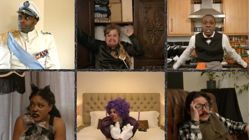 Cast composite of A Killer Party