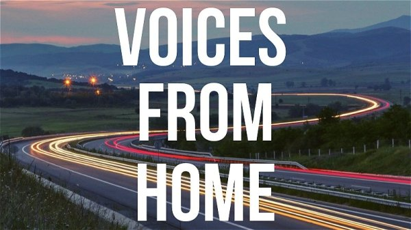 Promotional image for Voices from Home