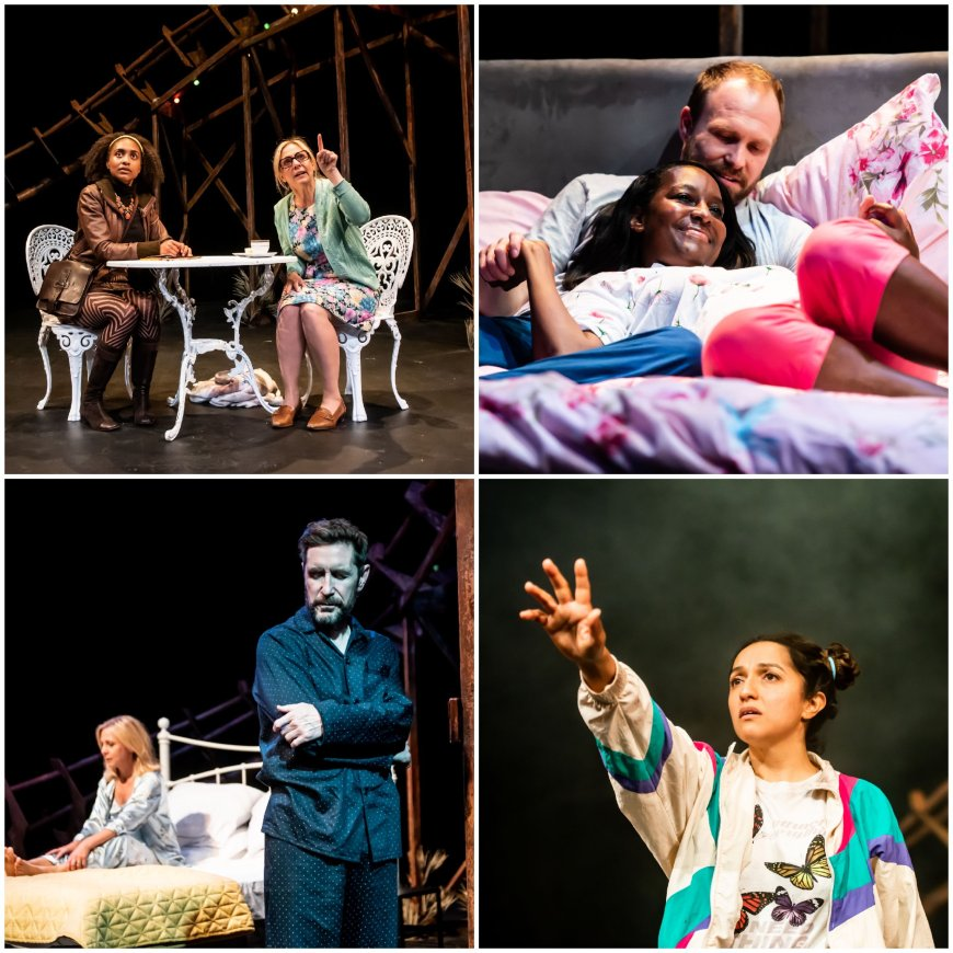 Images from the four plays comprising Bad Nights and Odd Days