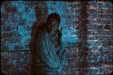 Sharon Duncan-Brewster in The Madness, at the Almeida
