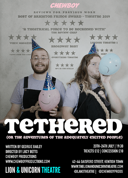 Promotional poster for Tethered