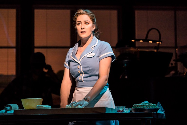 Lucie Jones as Jenna in Waitress