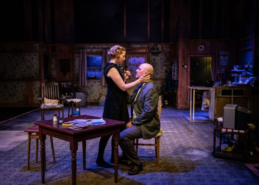 Orla Fitzgerald and Adam Best in The Beauty Queen of Leenane