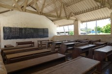 A classroom at the village school