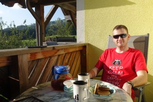Tea & Biccies = happy Dan