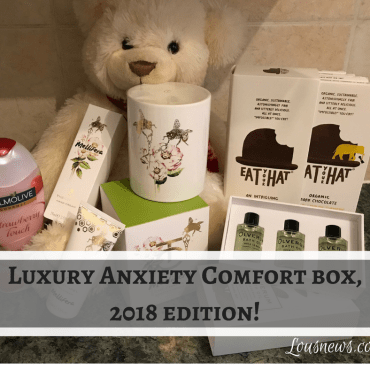 2018 Luxury Anxiety Comfort Box