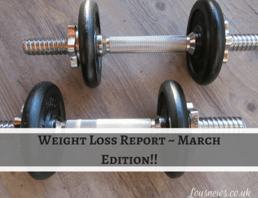 March weight report