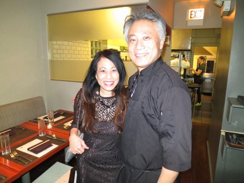 With Takashi Yagihashi