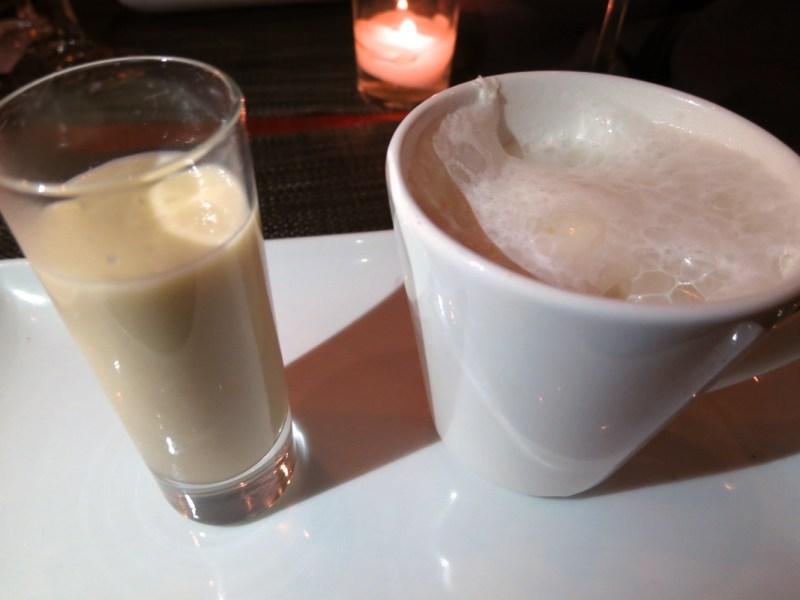 """Japanese Whiskey and Sake, Whiskey Cappacinno, """"Amasake"""" Sweet Sake Soup"""